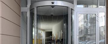 Kruhové automatické dvere 89