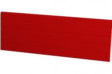Červený panel